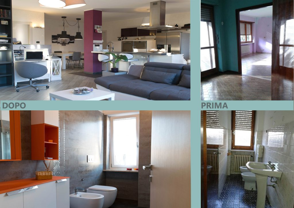 Ristrutturazioni 2 home sweet home torino - Pitturare le piastrelle ...